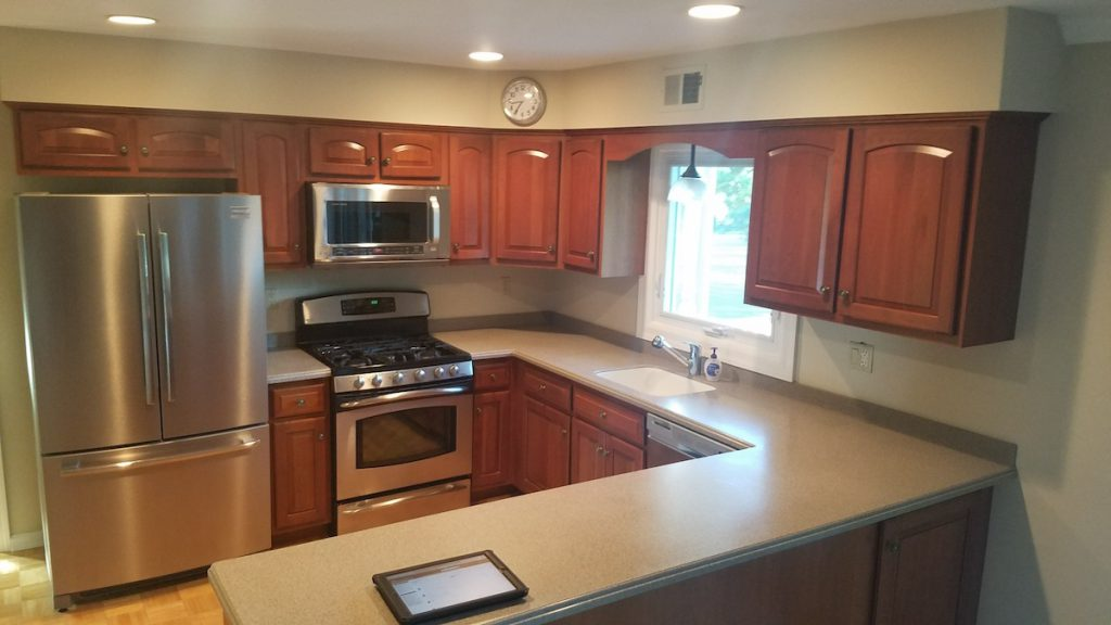 U Shaped Kitchen Remodel In Nj Monk S Home Improvements
