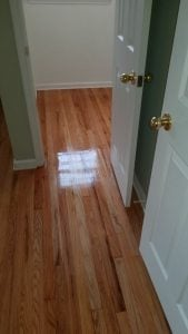 Refinished Closet and Master Bedroom Floors