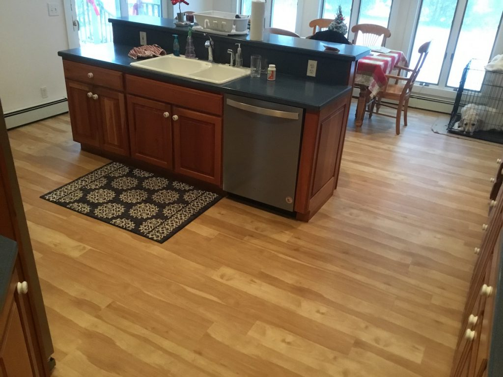 Laminate Floor Install Over Linoleum In Madison Nj Monk S