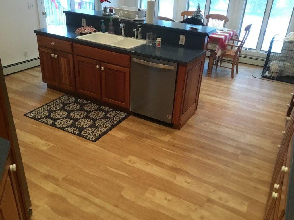 Beautiful New Laminate Flooring