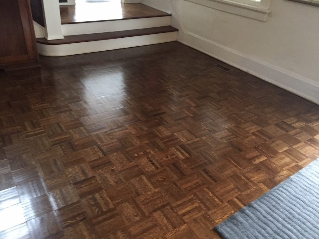 Refinishing Parquet Floors In Mountain Lakes Nj Monk S