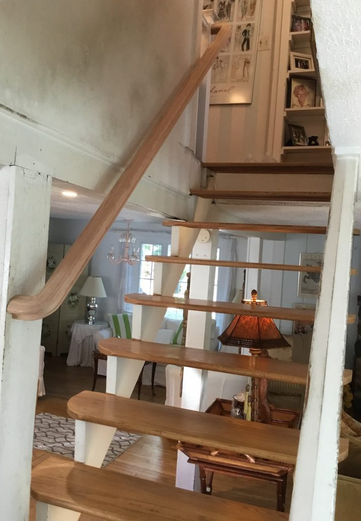 New Natural Wood Banister Installed