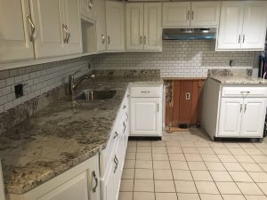 New Quartz Countertops and Subway Backsplash