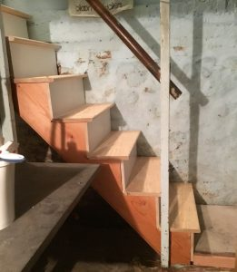 Basement Stair Replacement
