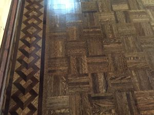 Refinishing Parquet Floors