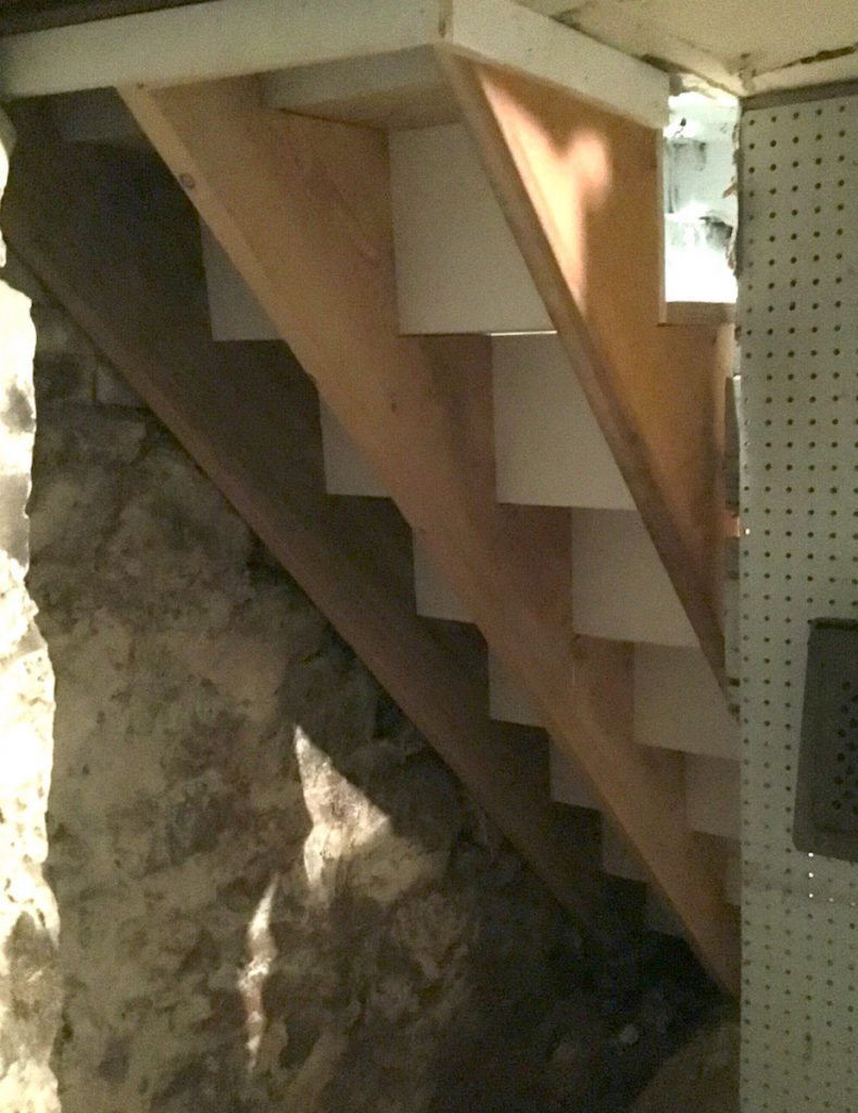 Basement Stair Trim: Basement Stair Replacement In Chatham NJ