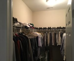 Existing Walk-In Closet
