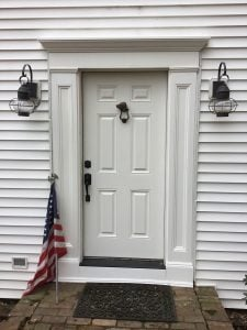 New Unpainted Exterior Front Door