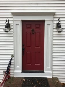 New Front Door with New Composite Surround