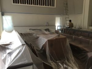 Protecting the Sanctuary from Paint and Dust