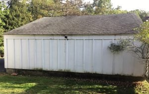 Rotted Trim on Detached Garage