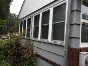 After Shingle Repair and Painting