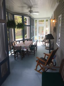 Fully Repainted Screen Porch