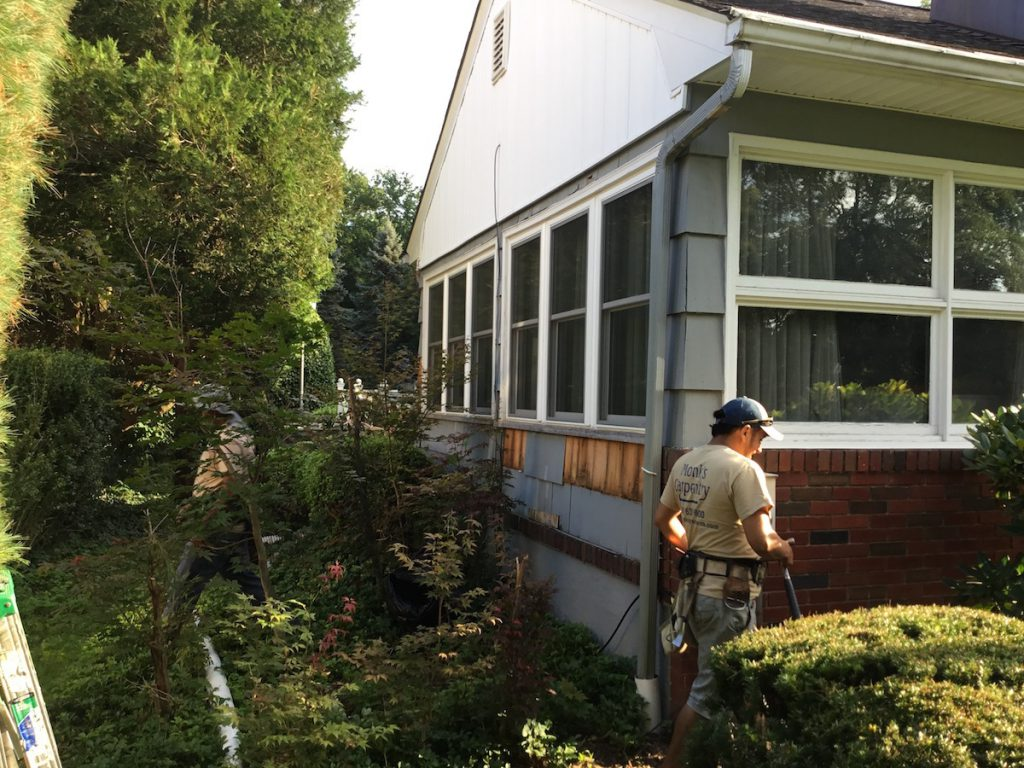 Shingle Repair And Painting In Florham Park Monks Home