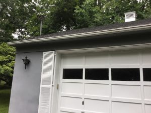 Painted Garage and Cupula