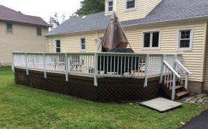 Stain a Wooden Deck