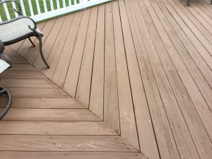 After Floorboard Replacement and Staining