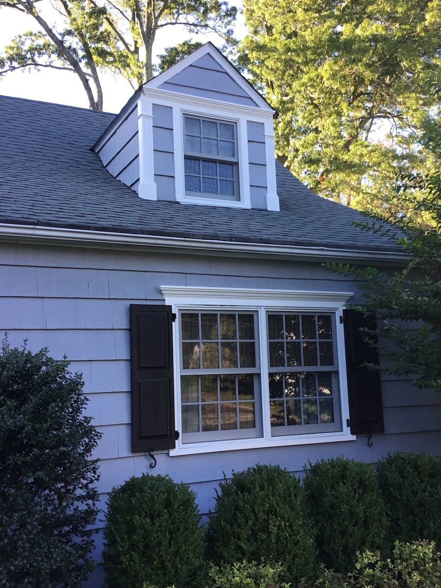New Exterior Window Molding