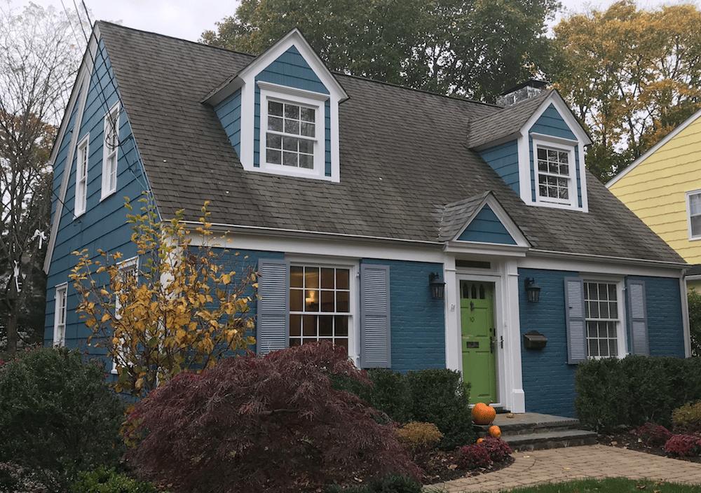 New Pediment and Exterior Trim