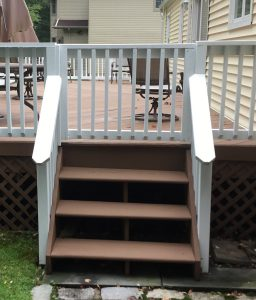 Replaced Wooden Gate