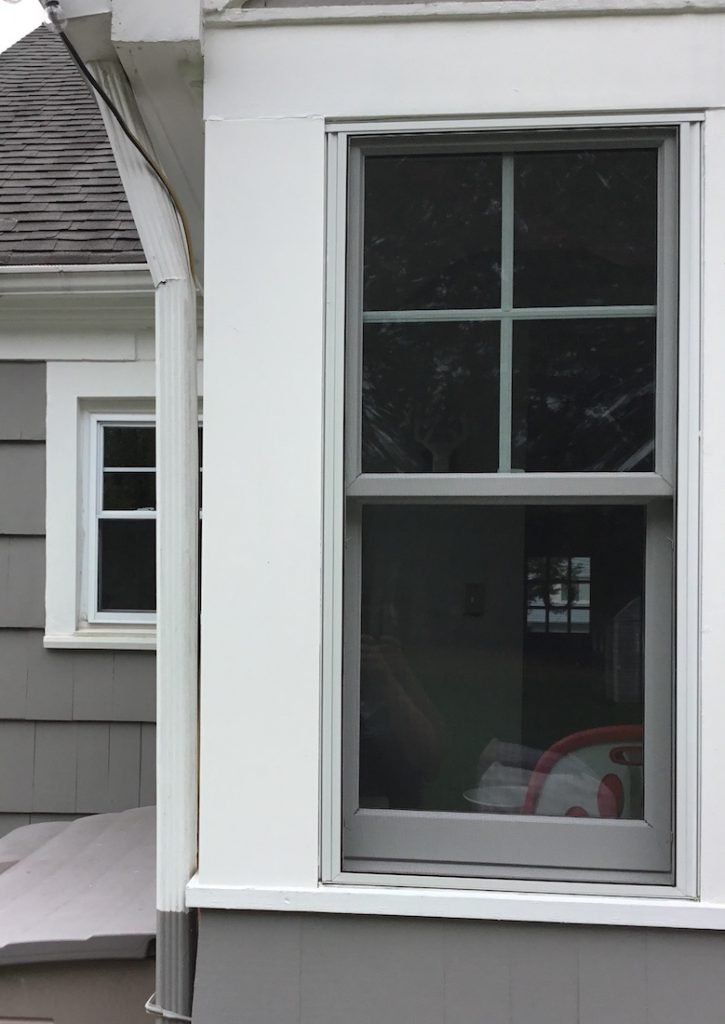 Exterior window and door trim replacement monk 39 s home - How to repair exterior window trim ...