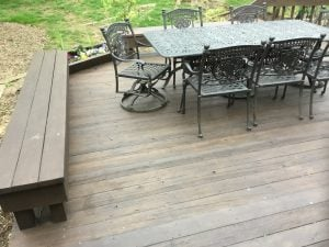 Deck Repair Due to Fallen Tree