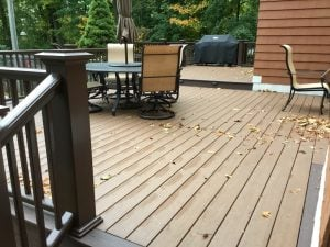 Rebuilt Deck Using Composite