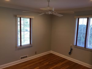 Uncovered Hardwood Floors