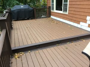 Two-Tier Deck with Lighting