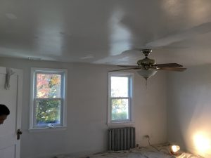 Repairing Cracked Ceiling