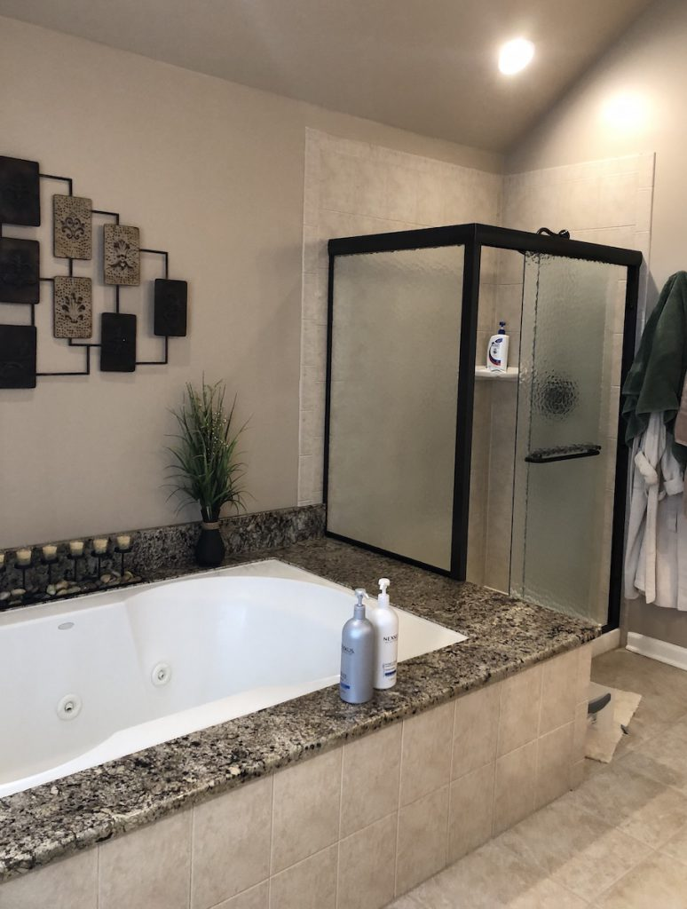Affordable Master Bath Makeover