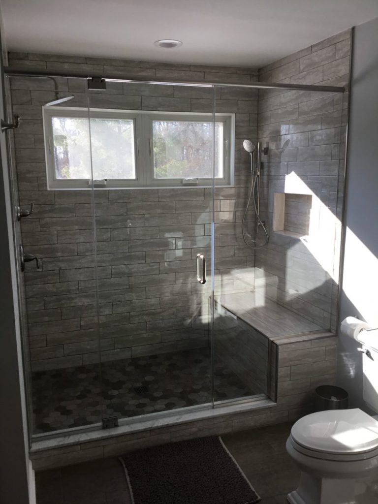 New windows and relocated toilet