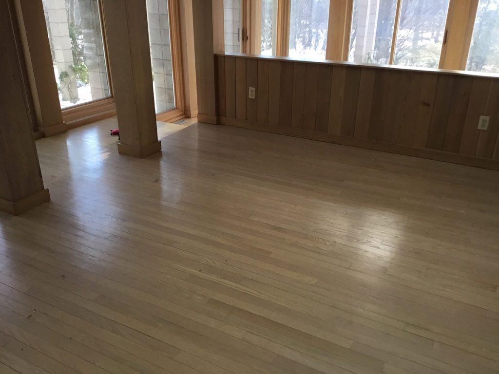 Refinishing Sun Damaged Floors Monk S Home Improvements
