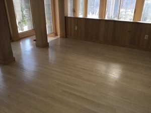 Dull, Sun Damaged Floors