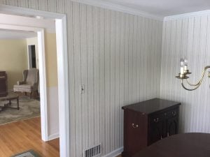 Existing Dining Room Wall