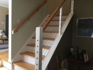 Painted and Stained Cable Railing System