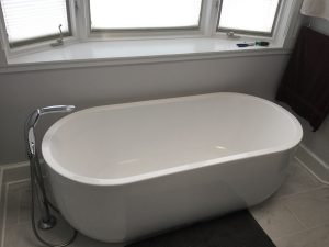 Slim Freestanding Tub