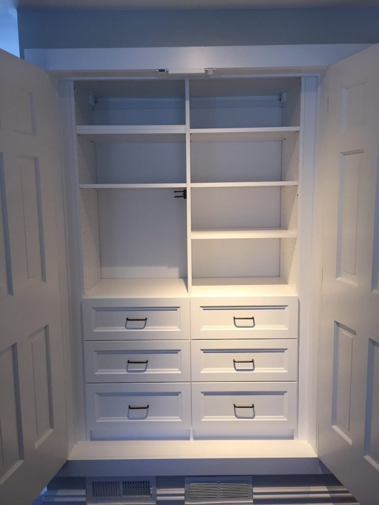 His And Hers Custom Closet Systems Monk S Home