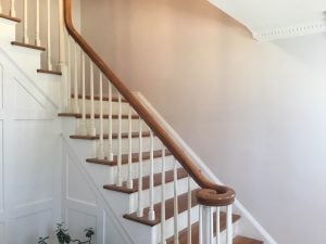 Freshly Painted Stairwell