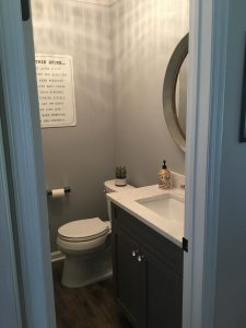 Powder Room After Remodel