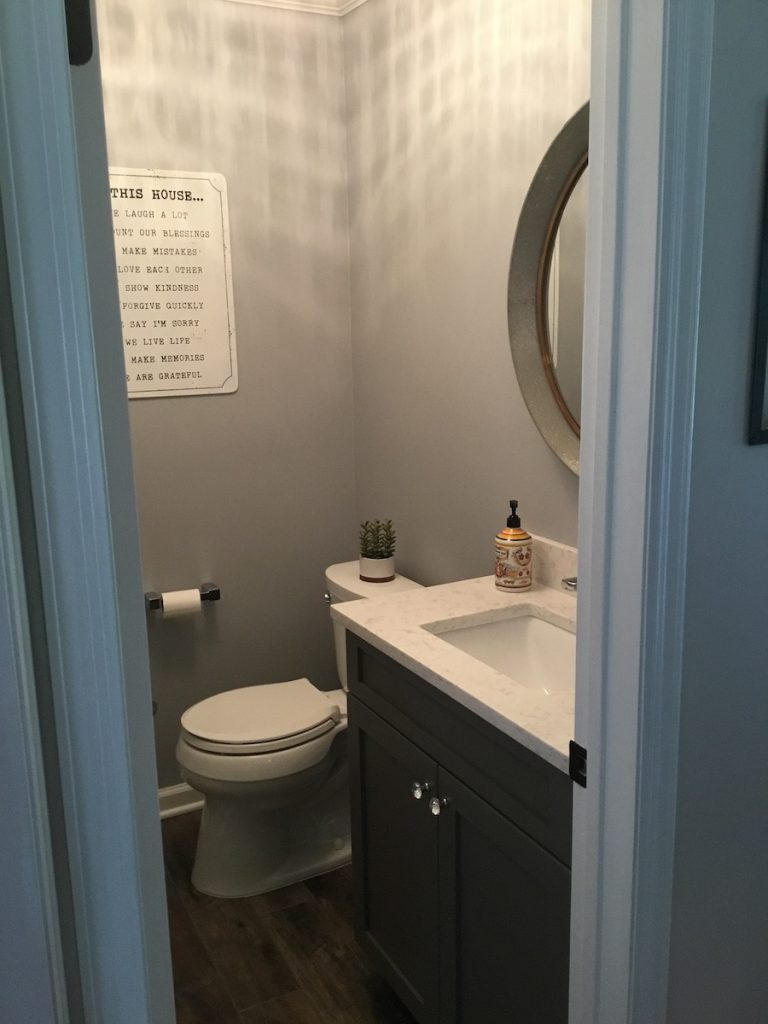 Powder Room Remodel Monk S Home Improvements