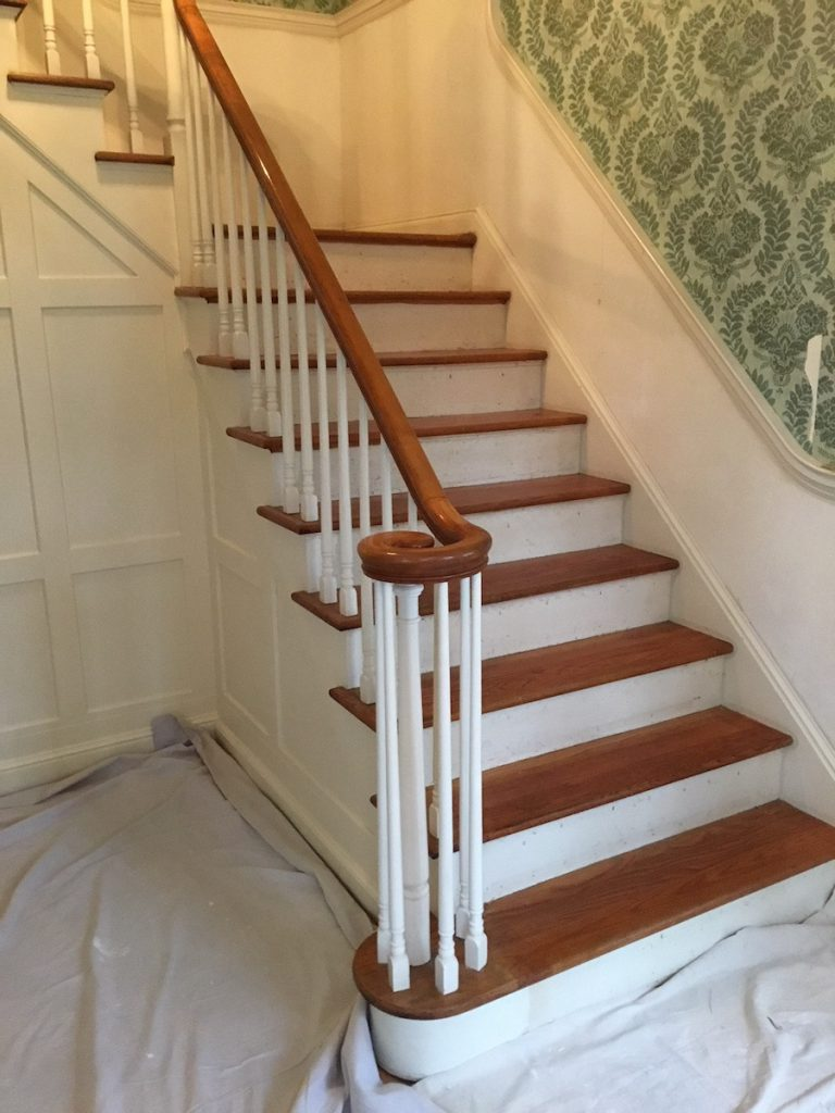 Stairwell Wallpaper Removal Monk S Home Improvements In Nj
