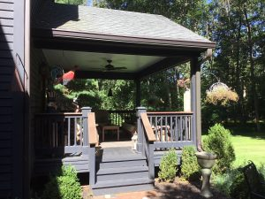 Existing Open Air Porch