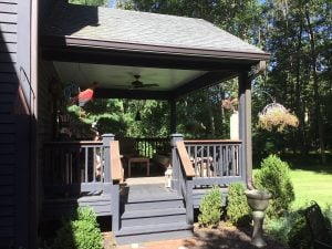 Existing Open Air Porch