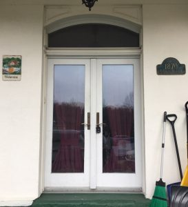 Front Doors Before Replacement