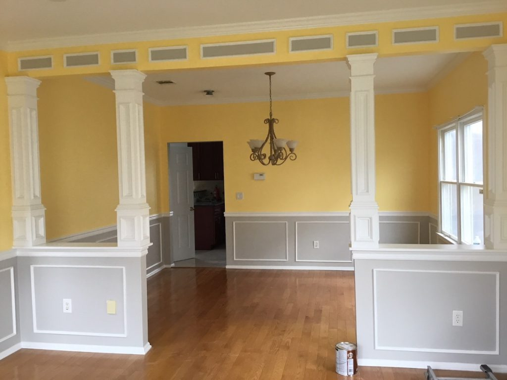 Faux Columns For Wall Opening Monk S Home Improvements