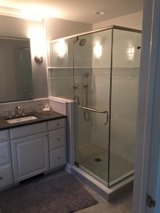 New Frameless Shower
