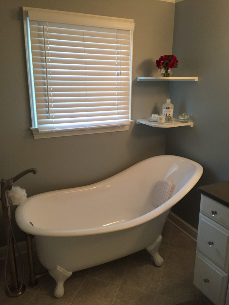 Adding a Freestanding Bathtub