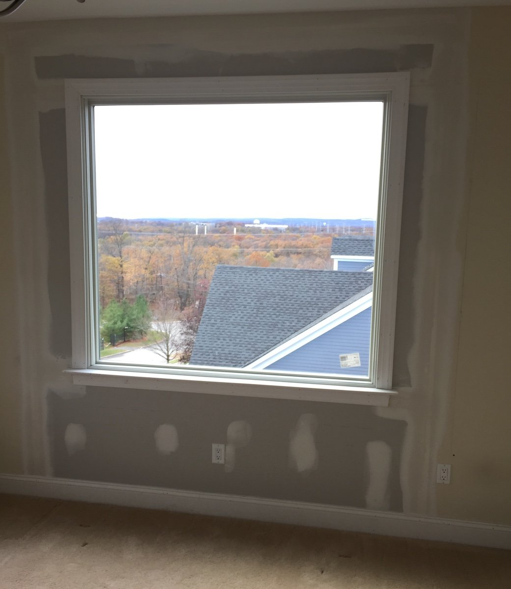 New picture window installation monk 39 s home improvements for New construction windows reviews
