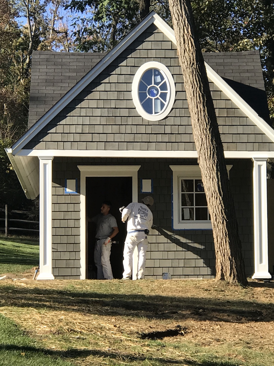 Siding A Shed In Mendham Nj Monk S Home Improvements